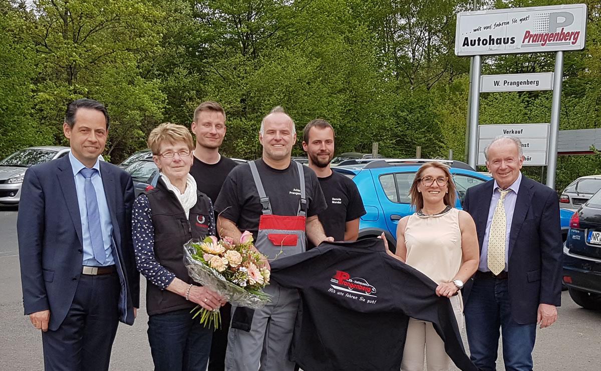 40 Jahre Auto Prangenberg KFZ Meisterbetrieb in Horhausen